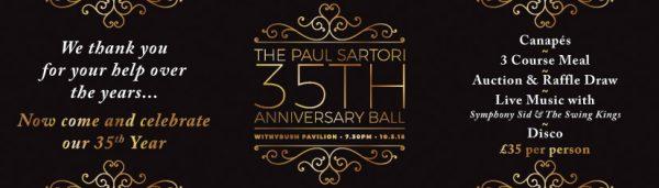 35th Anniversary Ball Paul Sartori