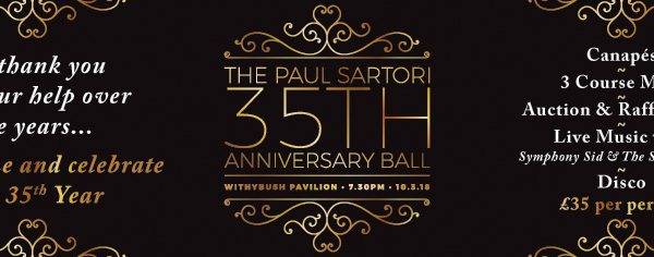 35th Anniversary Ball Paul Sartori