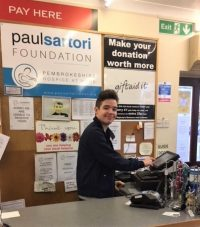 Paul Sartori Volunteers Volunteering Pembrokeshire how to volunteer