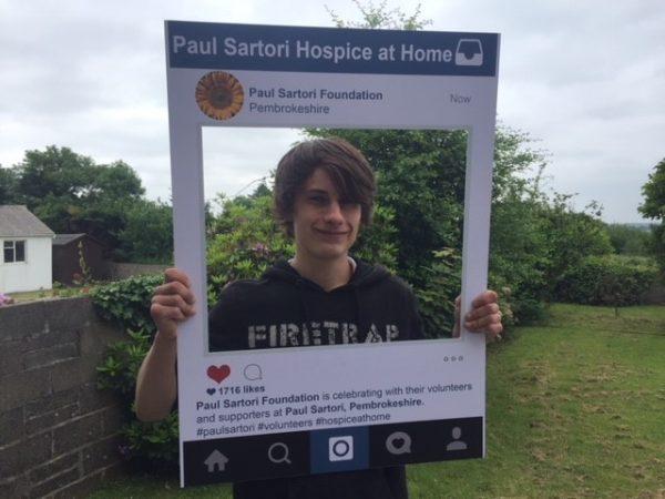 Callum E-Comm Volunteer 2018 Paul Sartori