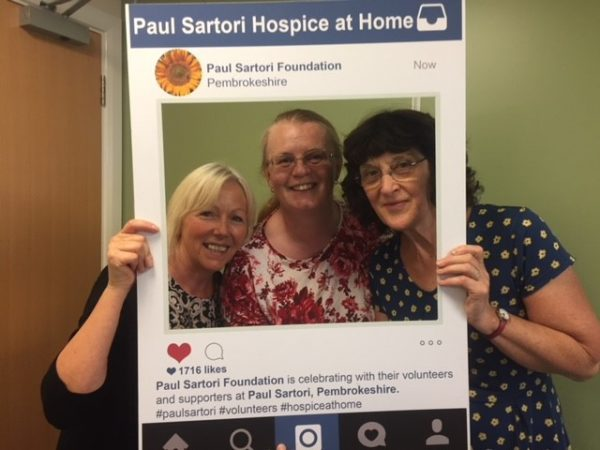 Complementary Volunteers Linda, Chris and Jilly 2018 Paul Sartori