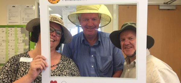 Paul Sartori Hats off to volunteers hospice at home