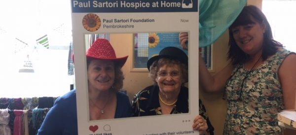 Paul Sartori Narberth Volunteers Sue and Jean 2018