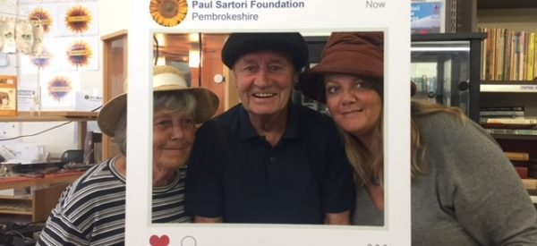 Paul Sartori Tenby Volunteers Helen, Michael and Anne 2018