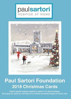 Christmas Cards for 2018 - Paul Sartori