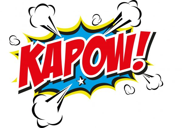 KAPOW! 5k inflatable obstacle course near Tenby, Pembrokeshire