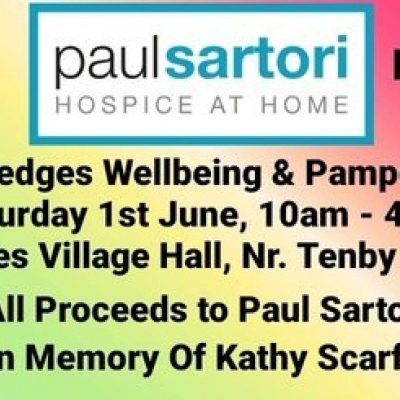 Wellbeing and pamper day Paul Sartori