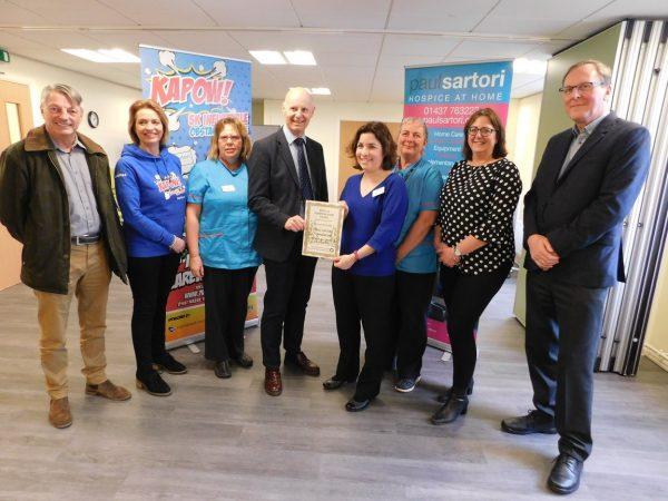Pride in Pembrokeshire Award Paul Sartori