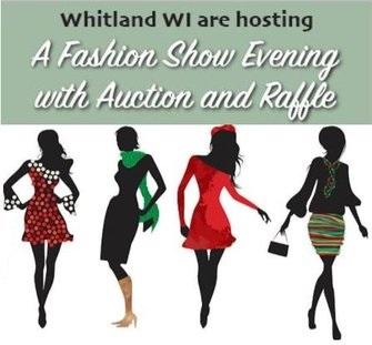 Fashion show auction raffle