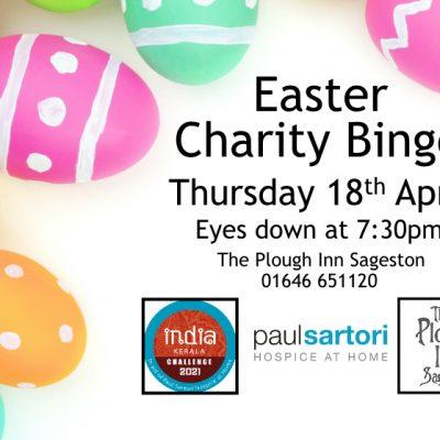 Easter Charity Bingo Plough Inn Sageston