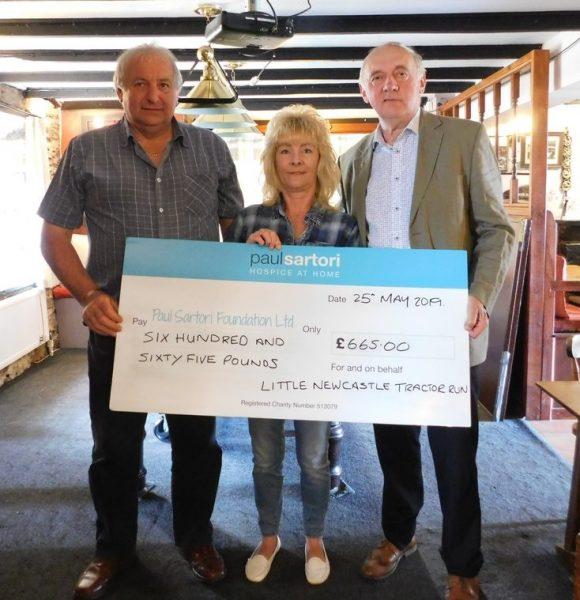 Little newcastle tractor run cheque
